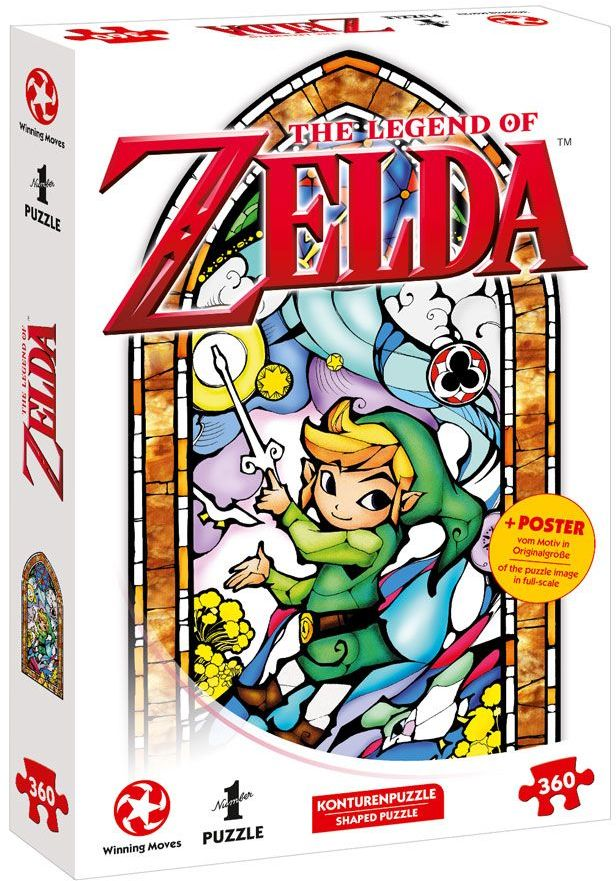 Puzzle - The Legend of Zelda Link Wind Waker