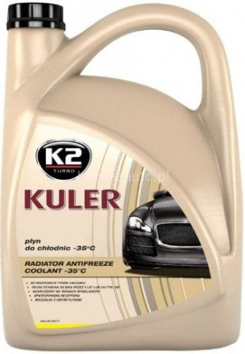 K2 Kuler -35 st.C żółty 5l.płyn do chłodnic