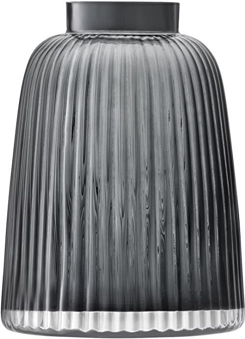 LSA International PT07 Wazon plisowany H26 cm szary