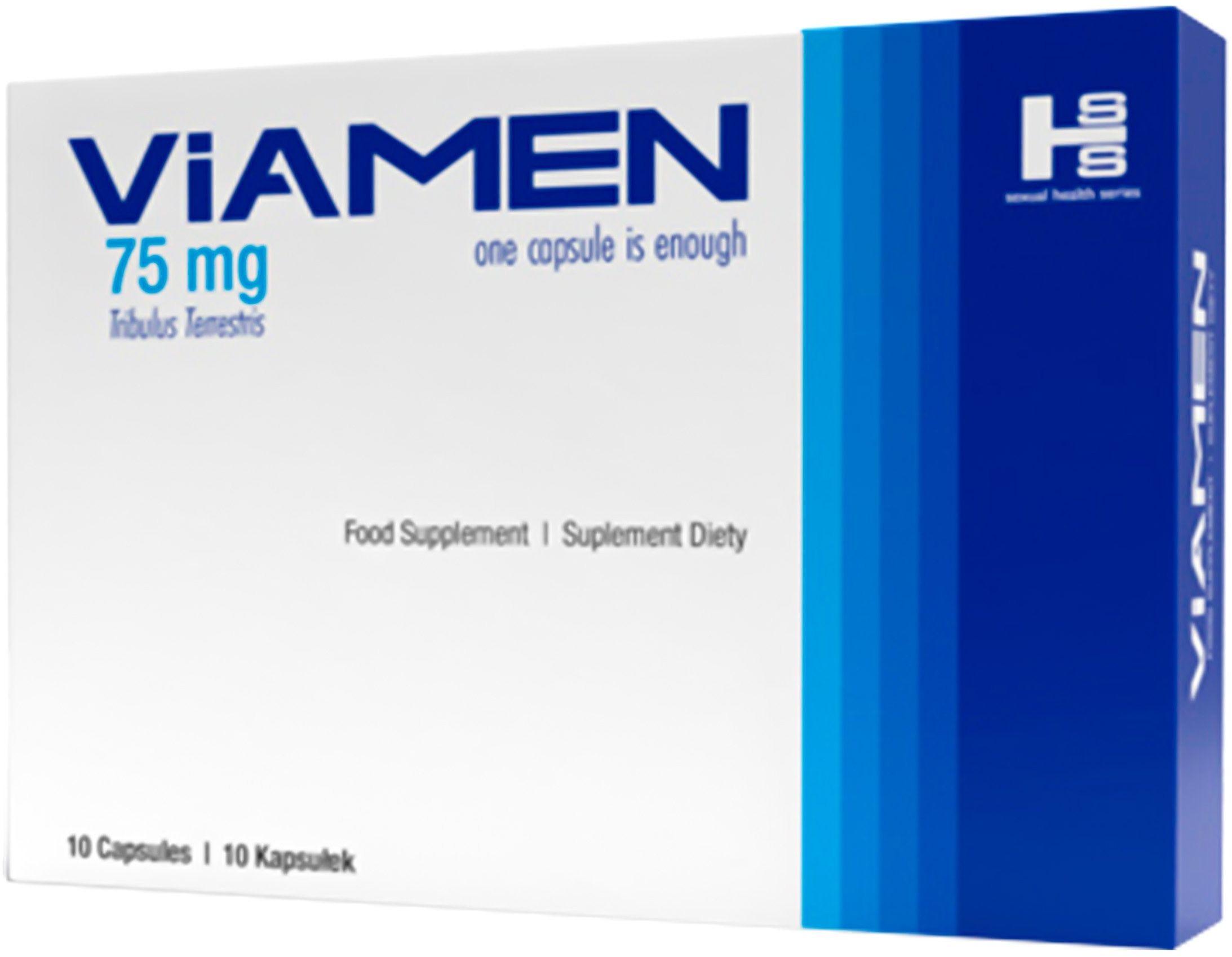 Viamen 10 kapsułek - suplement zwiększający erekcje