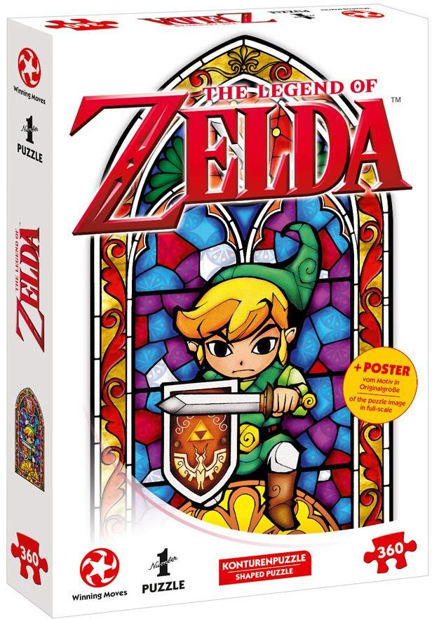 Puzzle - The Legend of Zelda Link The Hero of Hyrule