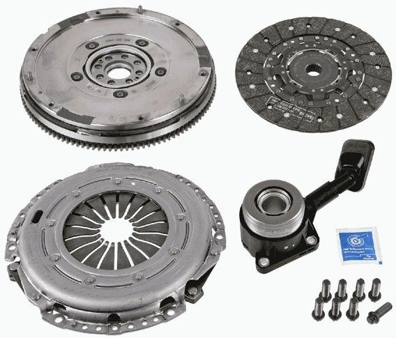 sprzęgło kompletne + koło dwumasowe Sachs - 1.8 TDCI - 6 biegów