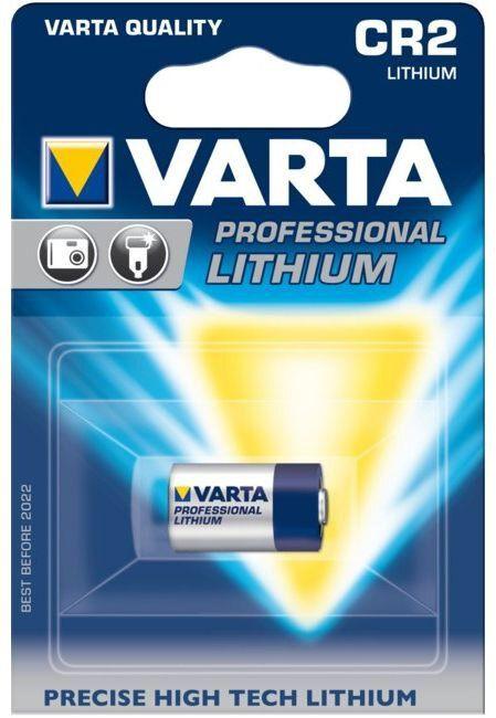 Bateria litowa Varta Professional Lithium CR2