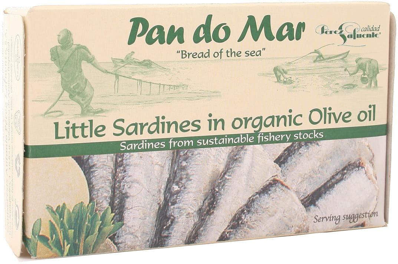 Sardynki w BIO oliwie z oliwek - Pan do Mar - 120g