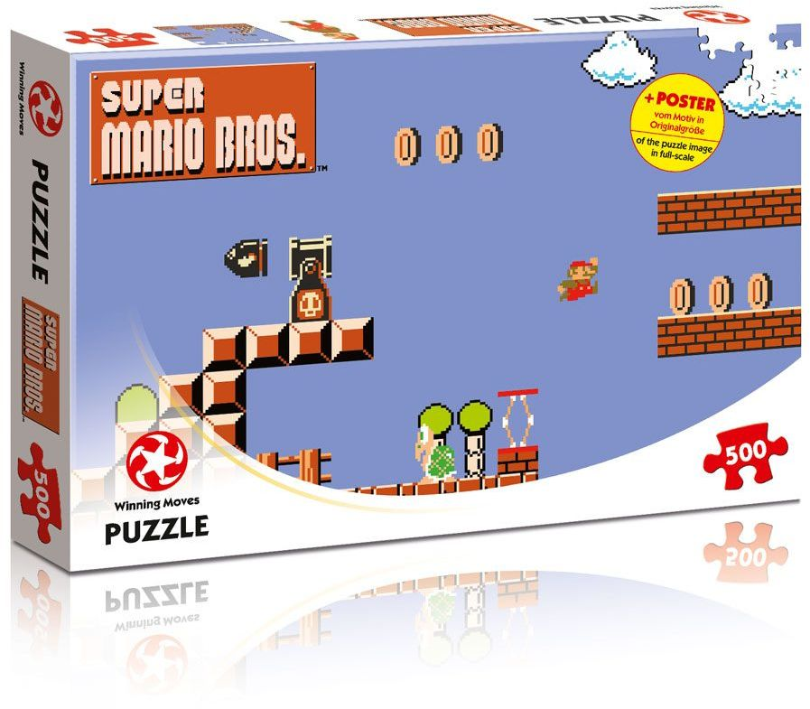 Puzzle - Super Mario Bros. - High Jumper