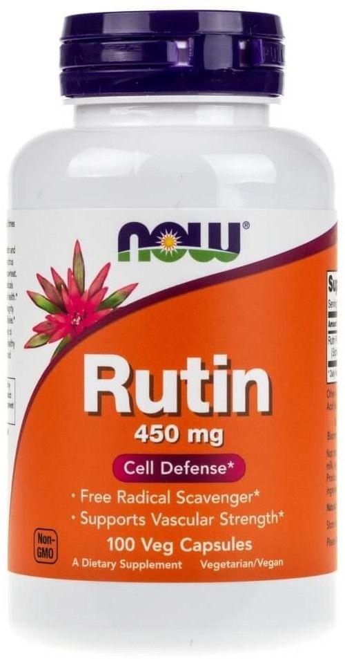 Rutin 450 mg/100 kaps. (Now Foods)