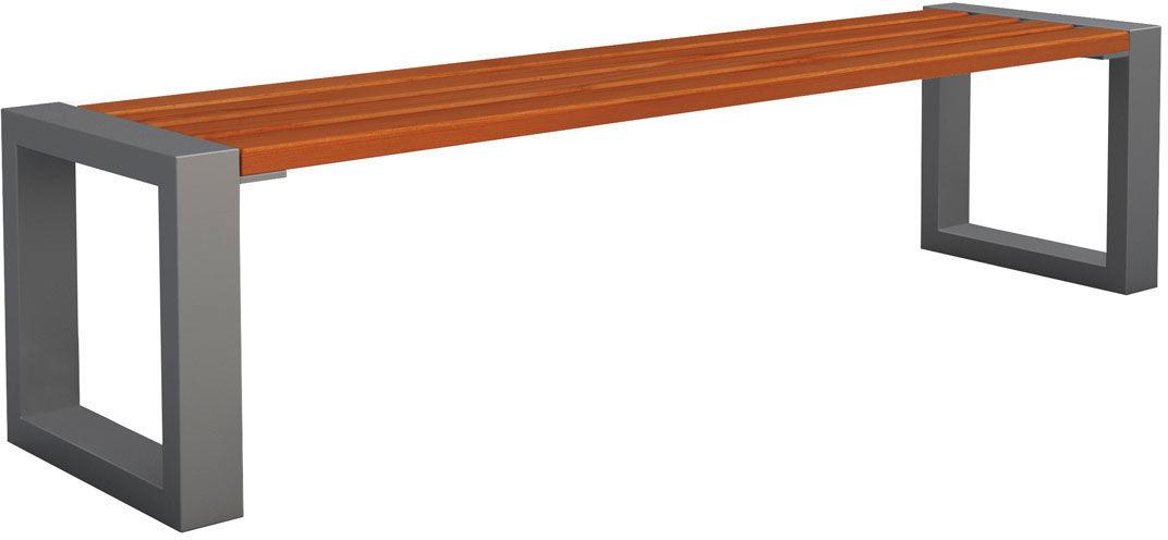 Ławka miejska Norin 3X Gray 180cm - 8 kolorów