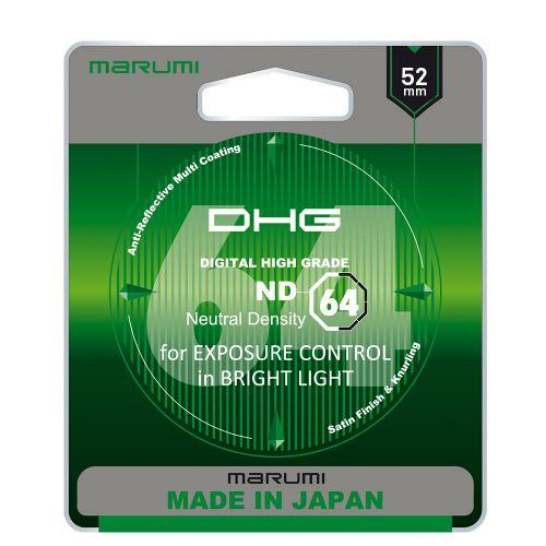 MARUMI DHG ND64 Filtr fotograficzny szary 52mm
