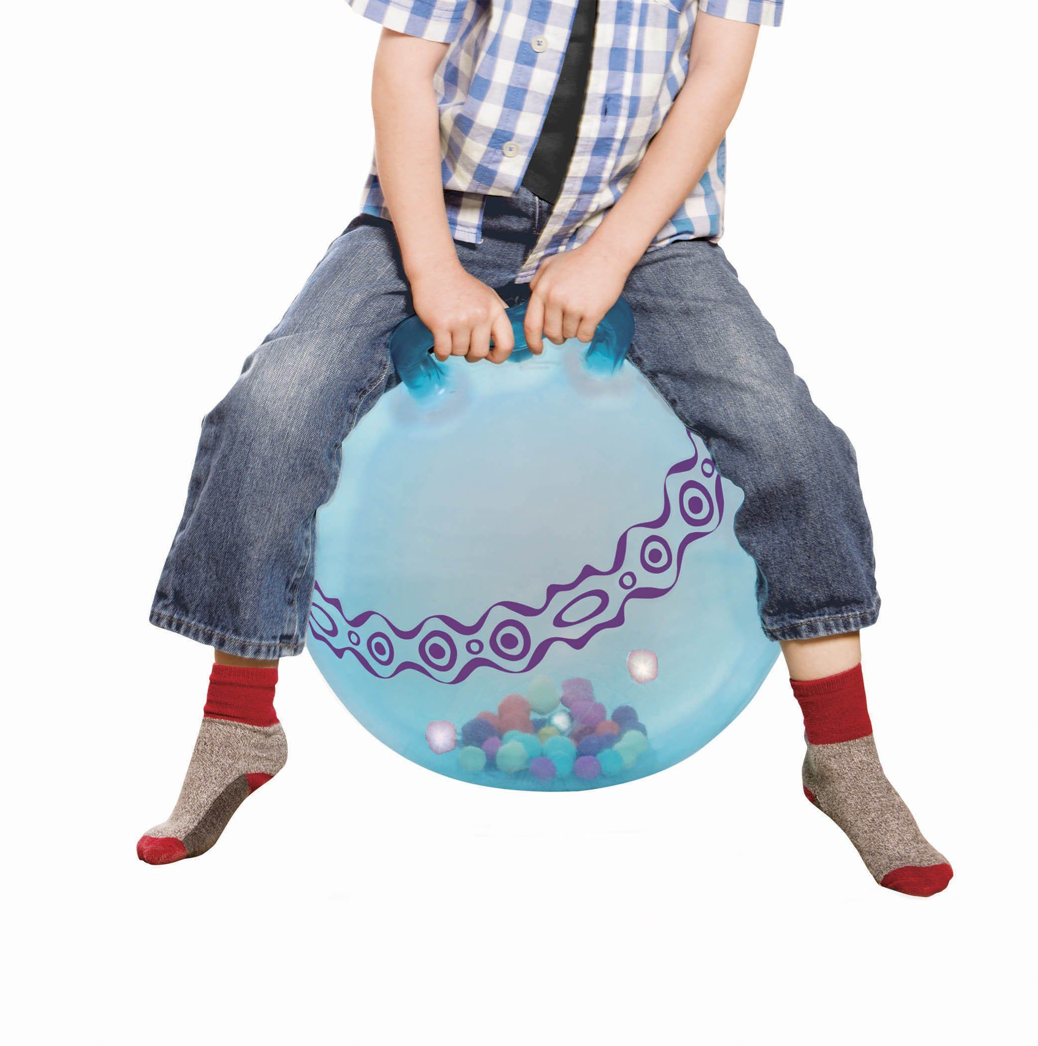 B. toys by Battat 44629 (Sea) Light-Up Hopping Ball