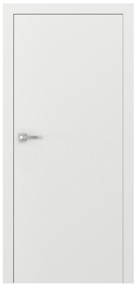 Skrzydło drzwiowe pełne bezprzylgowe Vector T Białe 90 Prawe Porta
