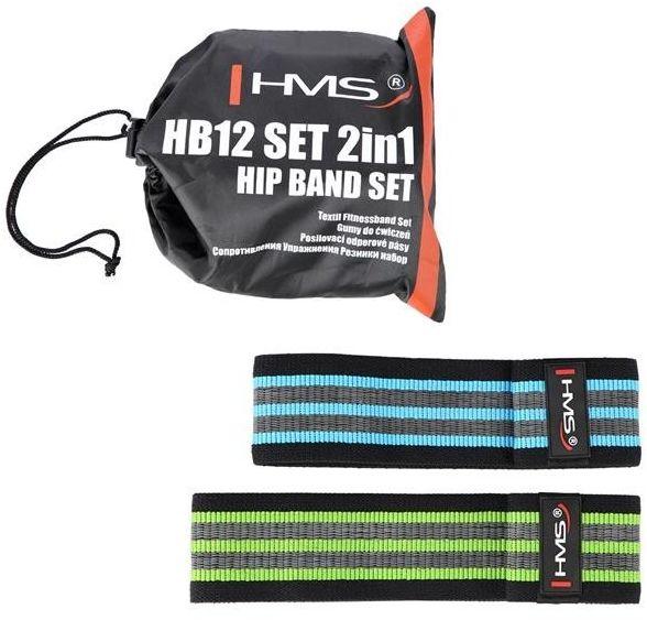 HB12 SET 2w1 GUMY DO ĆWICZEŃ HMS