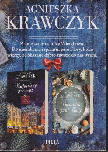 PAKIET Najmilszy prezent, Poradnik pani Flory Agnieszka Krawczyk komplet