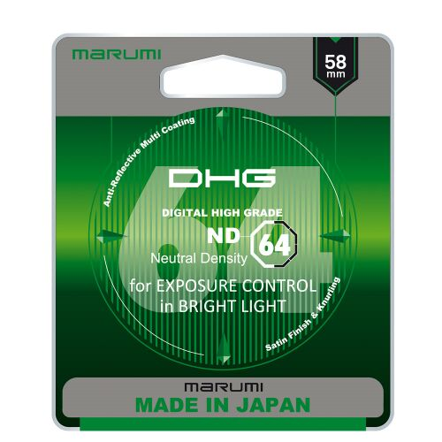 MARUMI DHG ND64 Filtr fotograficzny szary 58mm