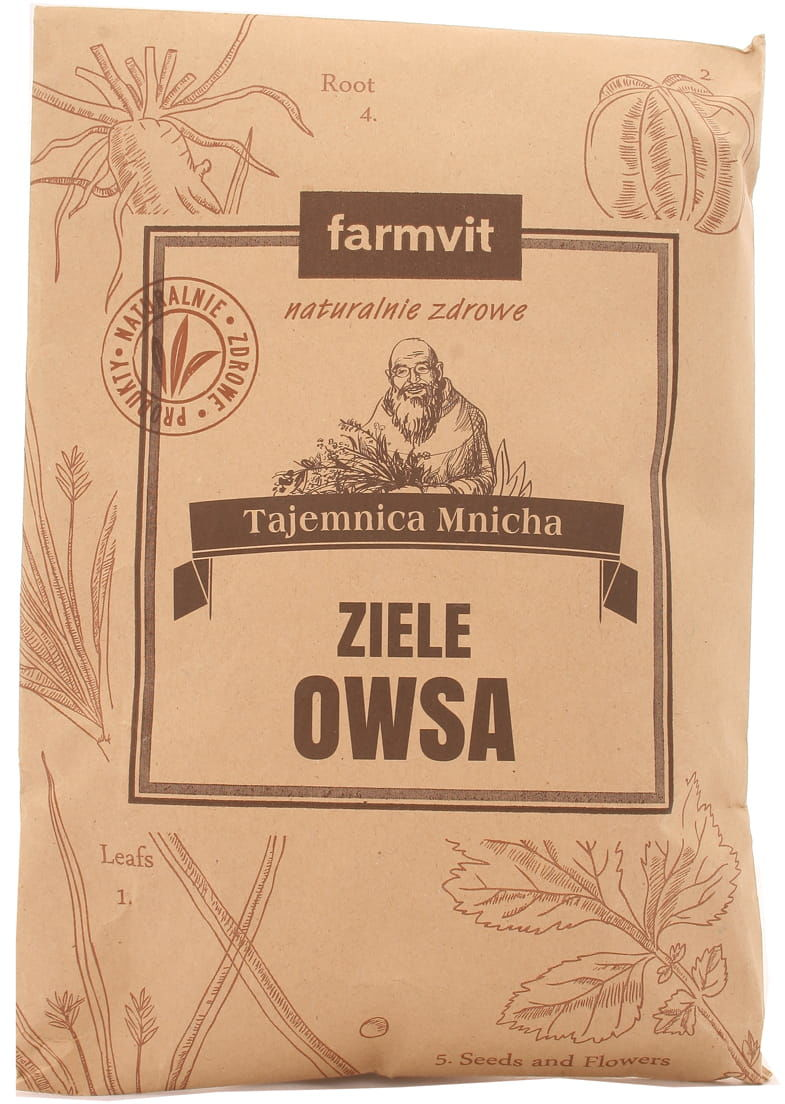 Ziele owsa - Farmvit - 50g