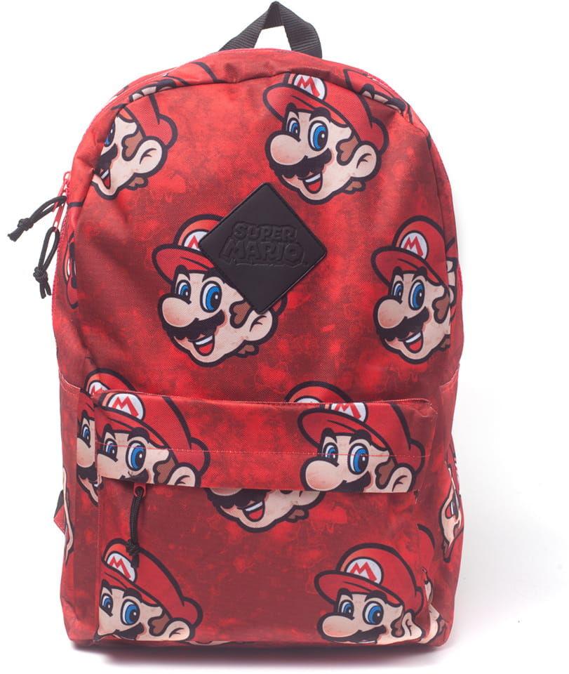 Plecak Super Mario - Mario face