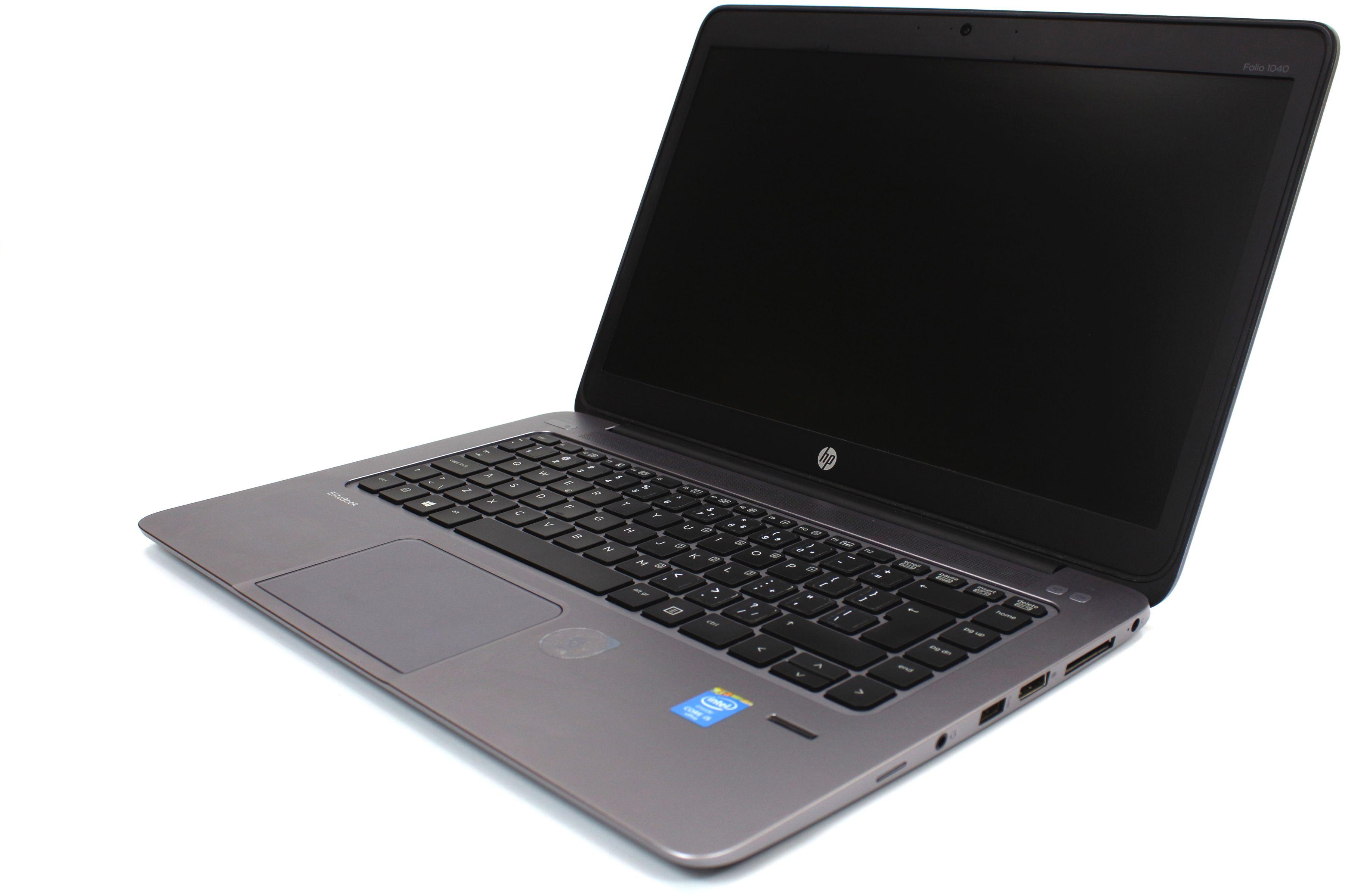 """Laptop HP EliteBook Folio 1040 G2 14.1"""" HD+ i5-5300U 8GB 128GB SSD KAMERA Modem 4G Windows 7/8/10"""