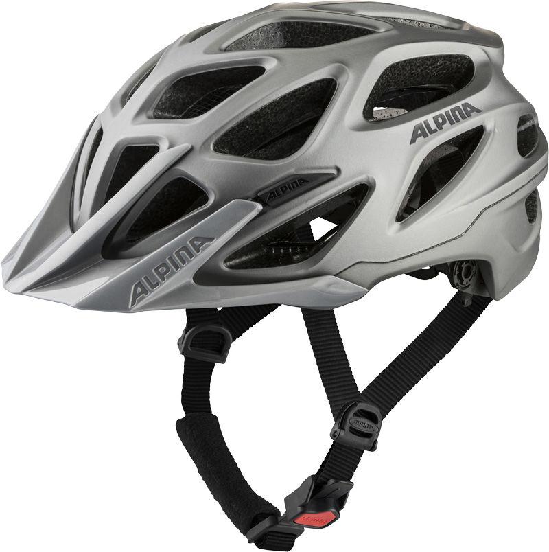 ALPINA kask rowerowy mtb MYTHOS 3.0 L.E. dark-silver matt A9713137 Rozmiar: 52-57,A9713137myth