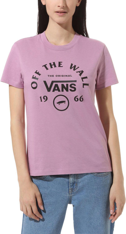 t-shirt damski VANS ATTENDANCE CREW TEE Valerian