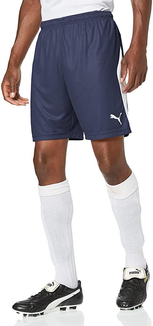 Puma LIGA męskie spodnie, Peacoat White, S
