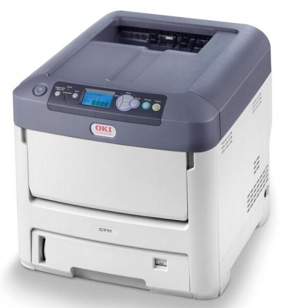 Drukarka laserowa kolorowa A4 OKI C711CDTN