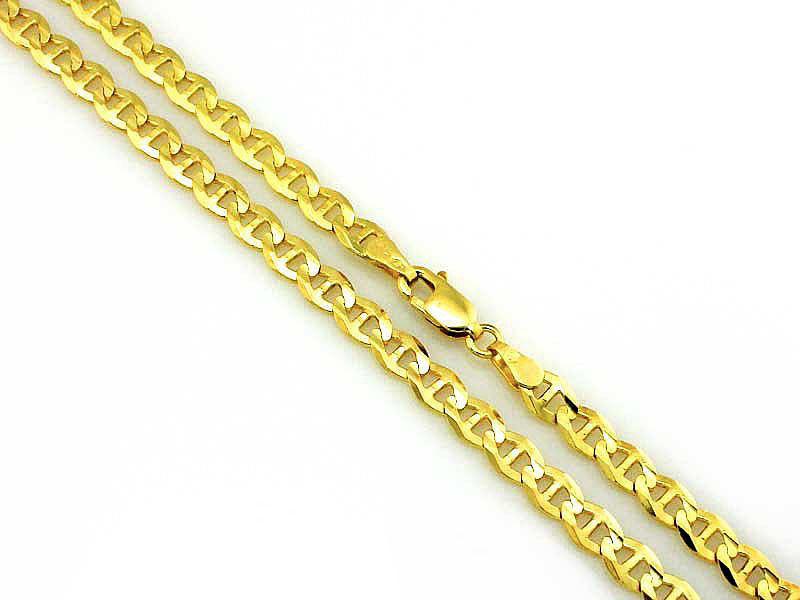 Złoty łańcuszek 333 marina gucci 50cm na prezent