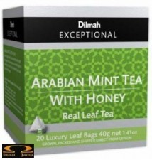 Herbata Dilmah Arabian Mint Tea with Honey - miętowa i miodowa 20 torebek
