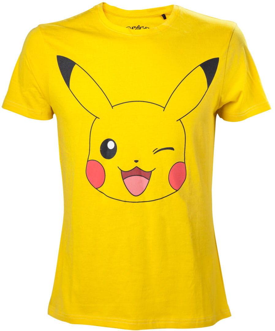 T-shirt Pikachu Winking damska