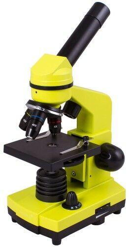 Mikroskop Levenhuk Rainbow 2L Lime Limonka