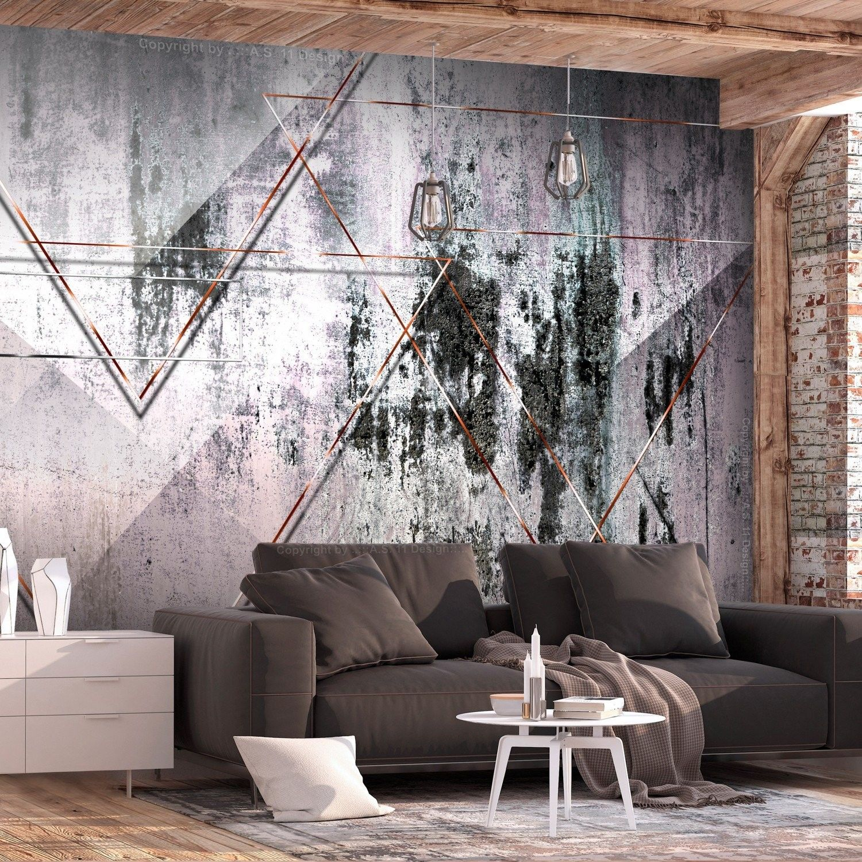 Fototapeta - geometryczna ściana