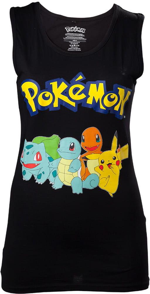 Koszulka tanktop damska Pokemon crew (t-shirt)