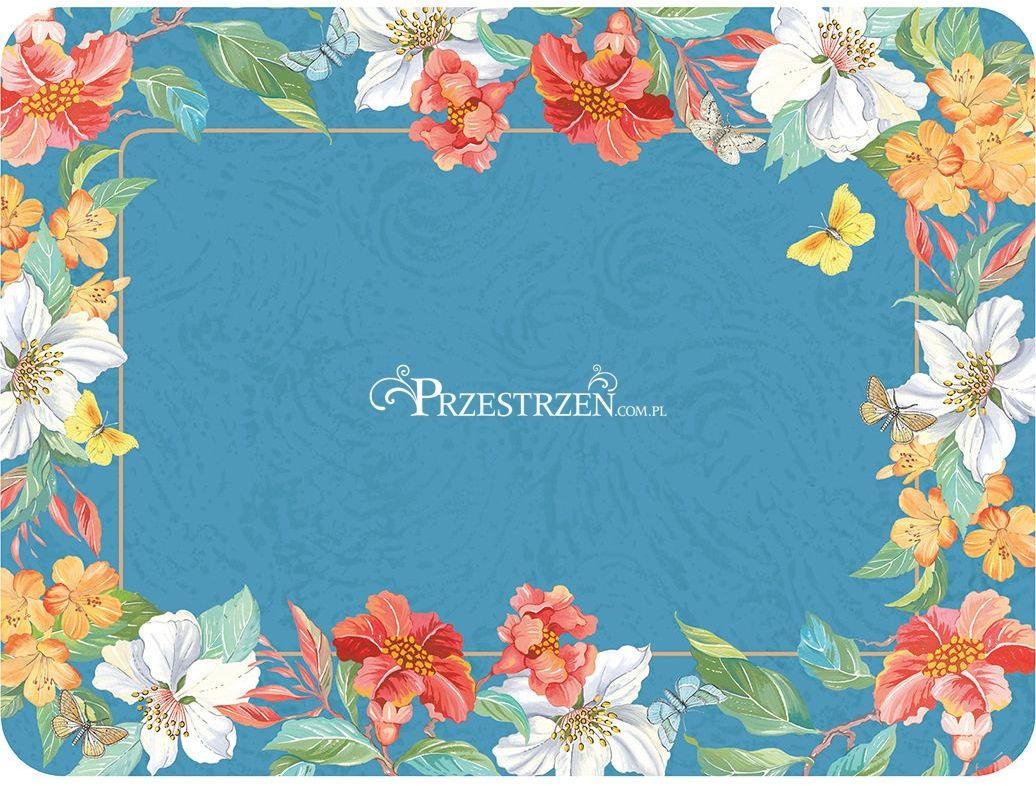 PODKŁADKI KORKOWE PIMPERNEL - Kwiaty Maui - ŚREDNIE