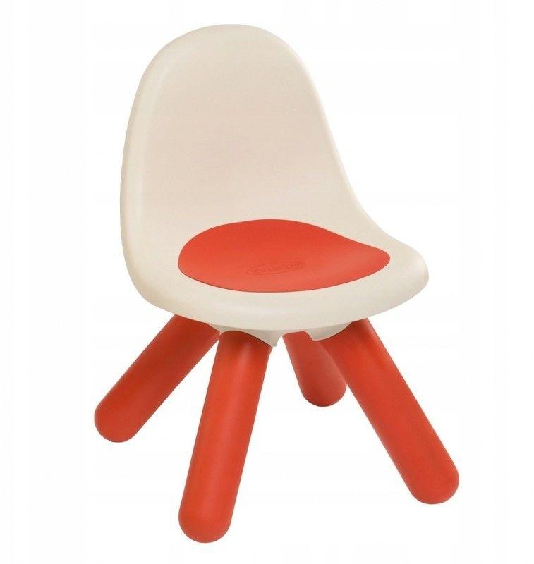 Czerwone Krzesełko Dla Dzieci Smoby