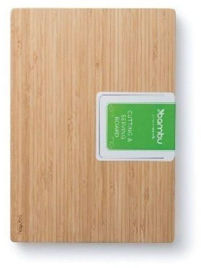 Deska do krojenia i serwowania z serii Undercut Bambu - średnia