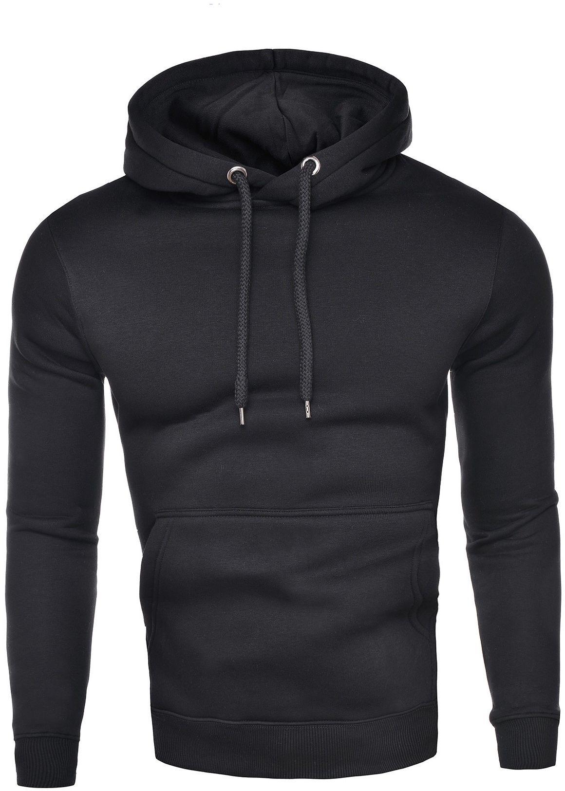 Męska tania bluza 1911 - czarna