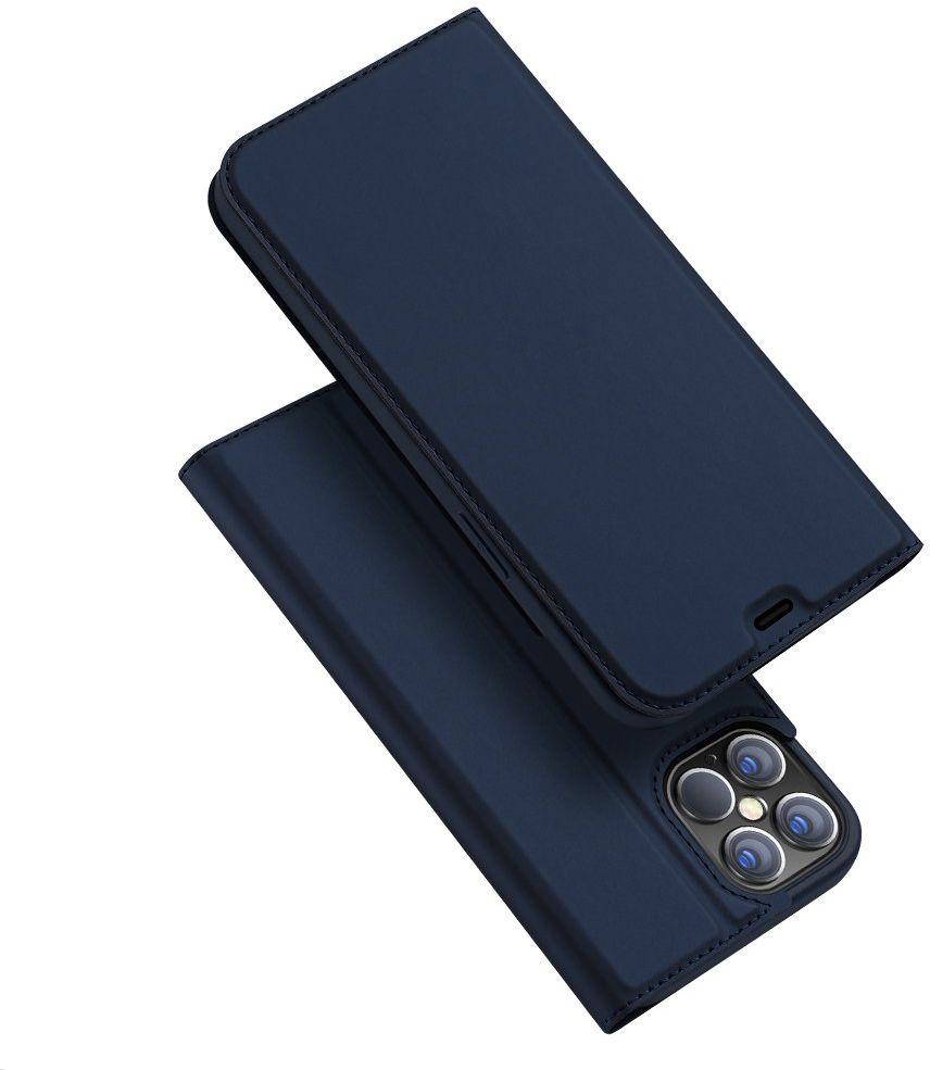 DUX DUCIS Skin Pro kabura etui pokrowiec z klapką iPhone 12 Pro Max niebieski