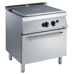 Kuchnia gazowa z płytą grzewczą z piekarnikiem gaz. GN 2/1 16500W