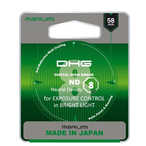 MARUMI DHG ND8 Filtr fotograficzny szary 58mm