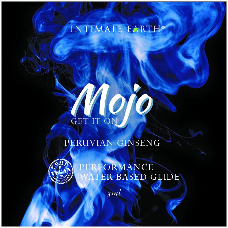 Intimate Earth Mojo Peruvian Ginseng Waterbased Performance Glide 3ml