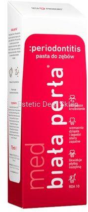 BIAŁA PERŁA Med Periodontitis - Pasta przeciwko PARODONTOZIE 75ML
