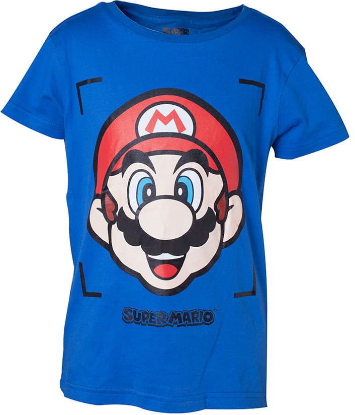 T-shirt Super Mario - Mario Face