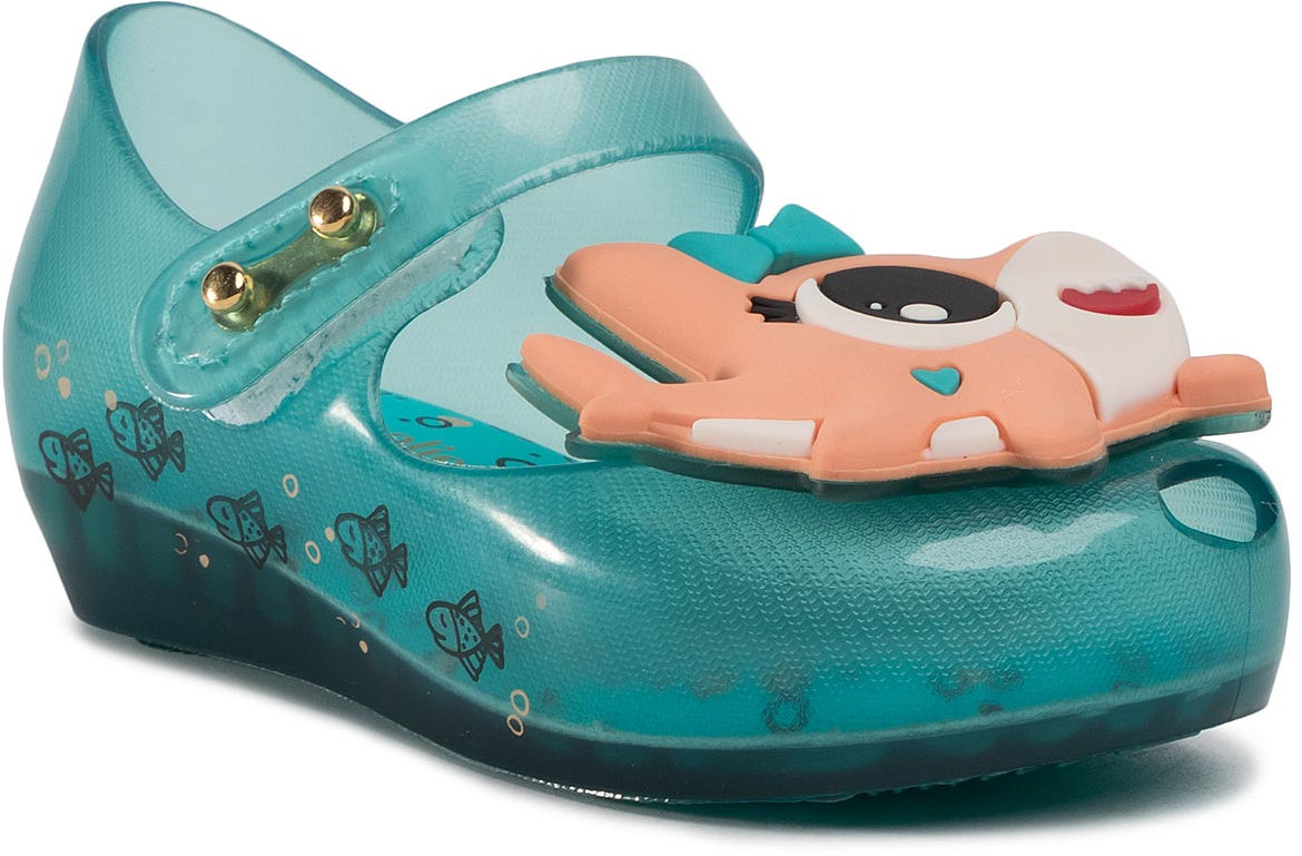 Półbuty MELISSA - Mini Melissa Ultragirl Shark B 32770 Blue/Orange 51443
