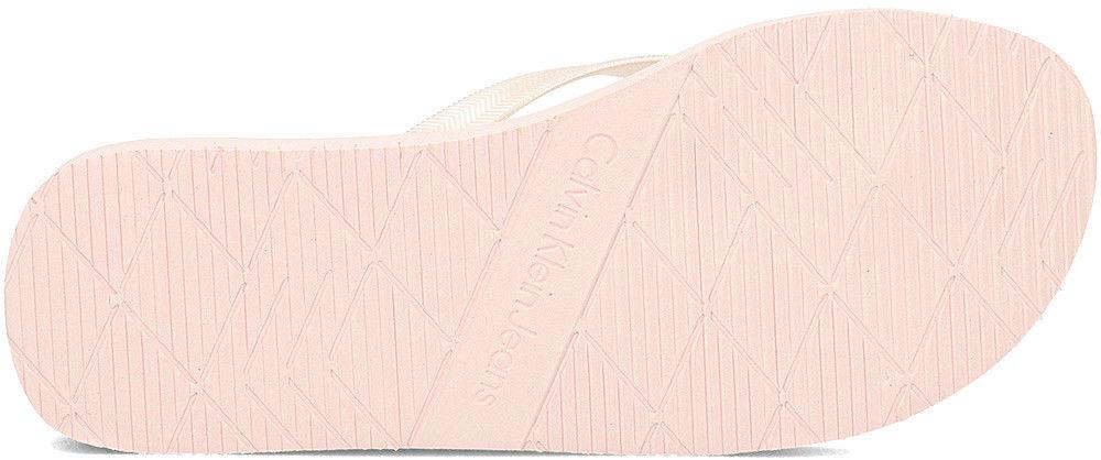 Calvin Klein Jeans Tesse Metallic - Japonki Damskie - RE9856 PINK