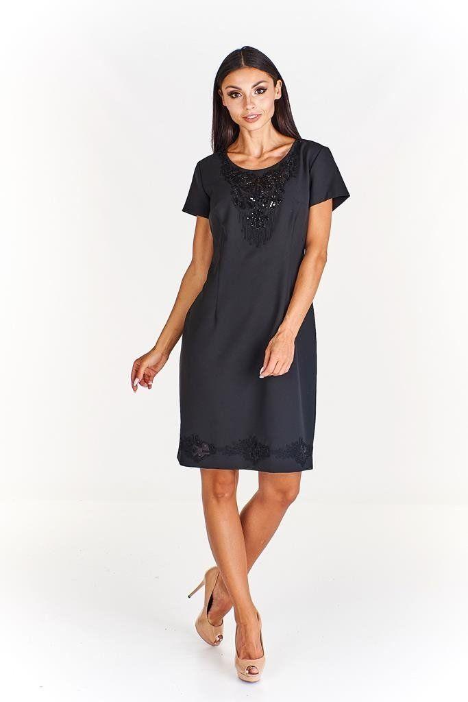 Sukienka FSU695 CZARNY