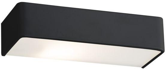 Kinkiet Rodan 3075 Argon nowoczesna oprawa w kolorze czarnym