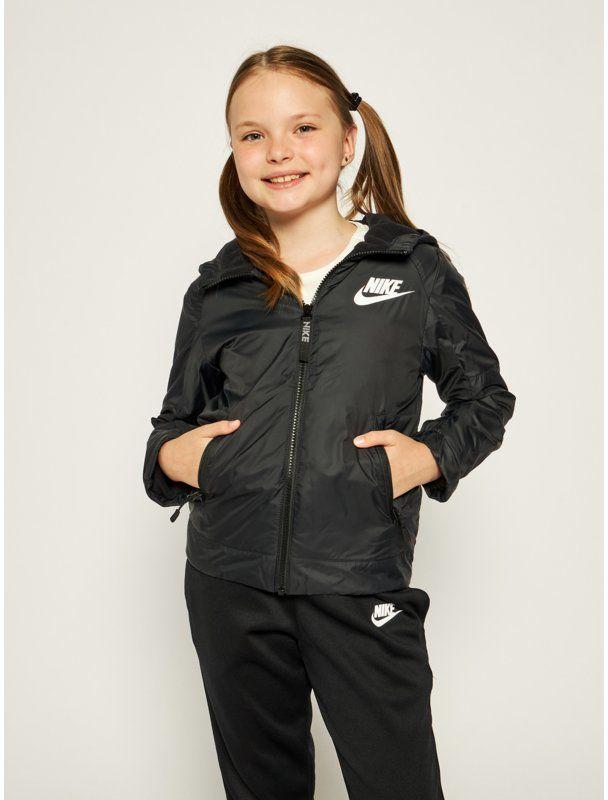 Nike Kurtka przejściowa Jeune 939556 Czarny Standard Fit