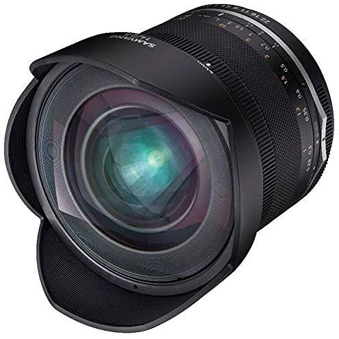 Samyang MF 14 mm F2,8 MK2 Sony E  szerokokątny obiektyw ręczny do pełnego formatu i ogniskowej APS-C Sony E Mount, 2. generacji A6300, A7 III, A7R III, A6400, A7R IV, A6100, A6600, A9 II
