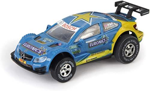 Darda 50387 Formuła wyścigowa zabawka samochód, parkiet Mercedes-Benz C-Coupé DTM
