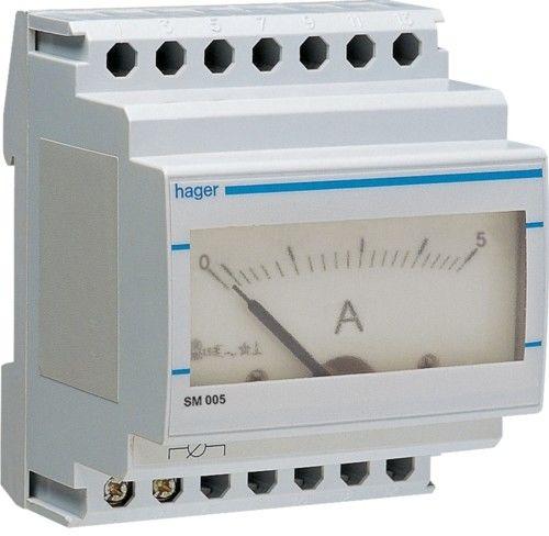 Amperomierz analogowy tablicowy 0-150A klasa 1,5 70x85mm SM150