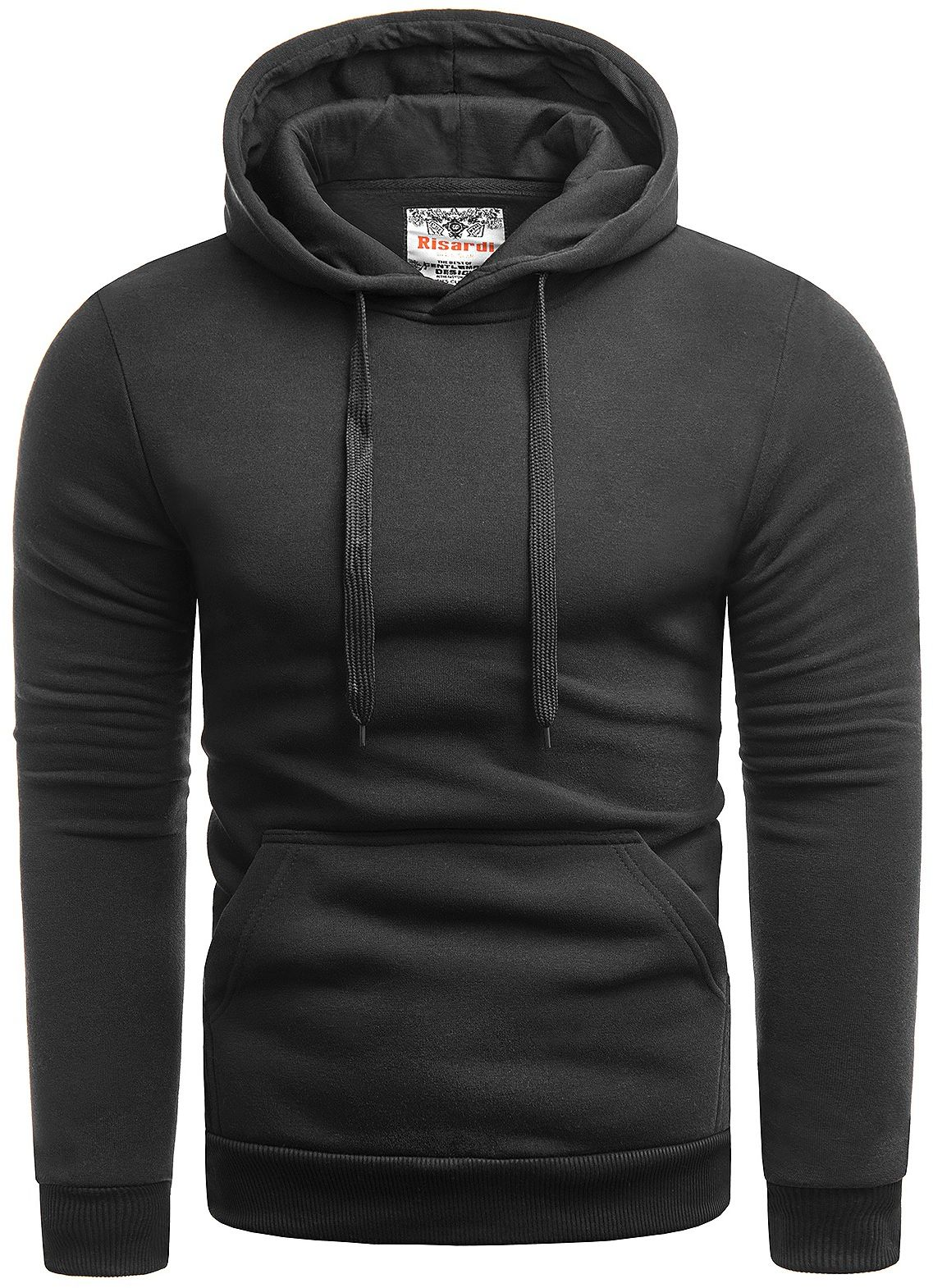Męska fajna bluza SG1 - czarna
