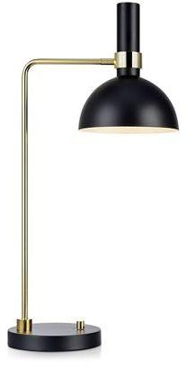 Lampa stołowa Larry 106973 Markslojd lampa stołowa w czarnym kolorze (mosiężne wykończenie)